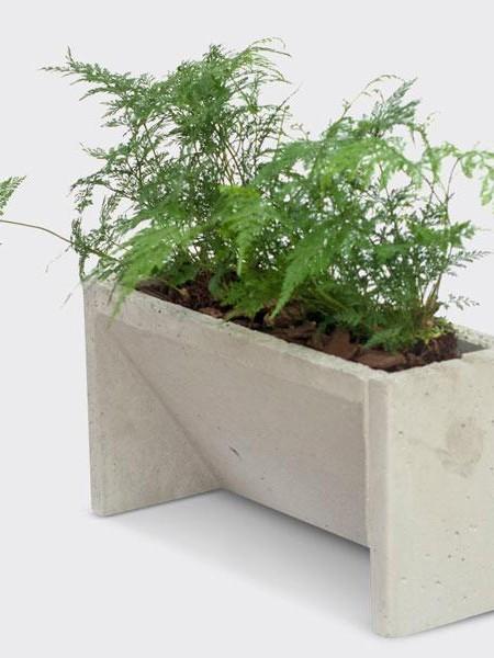 Jardinagem Vertical – Blocos de Concreto
