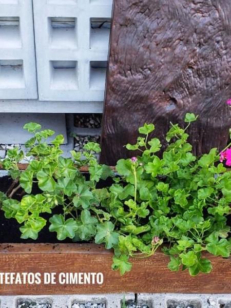 Vasos / floreiras de concreto